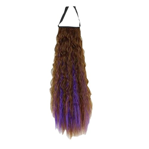 Fluffy Women Hair Extension with Band Hair Wig