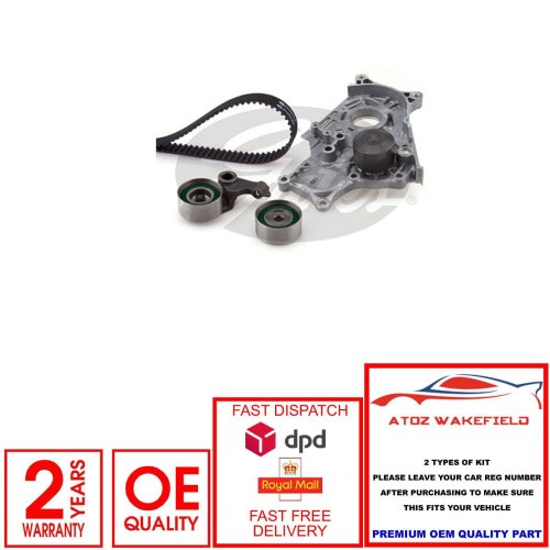 FOR TOYOTA AVENSIS COROLLA PREVIA RAV4 2.0 D-4D TIMING CAM BELT WATER PUMP KIT