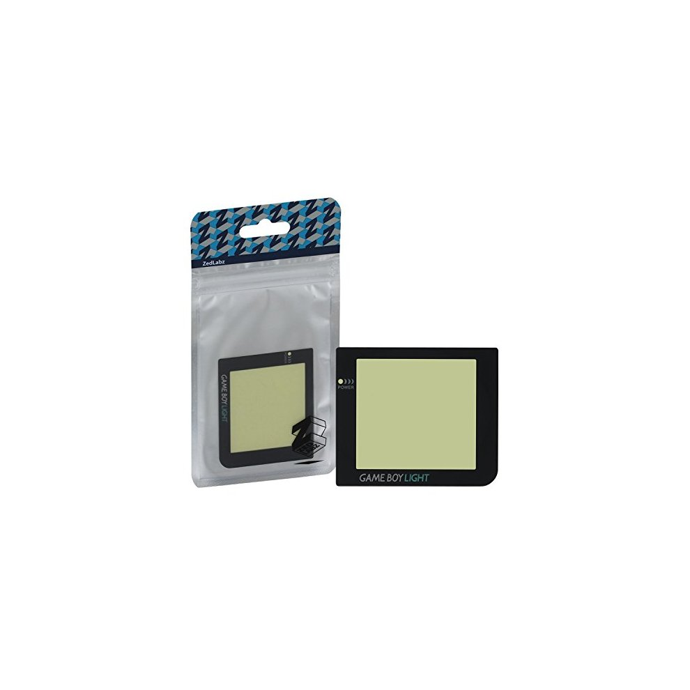 Screen lens for Game Boy Pocket for mod to Game Boy Light plastic cover  ZedLabz