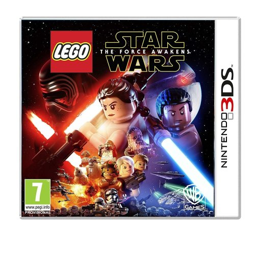 Lego Star Wars the Force Awakens Nintendo 3ds Game