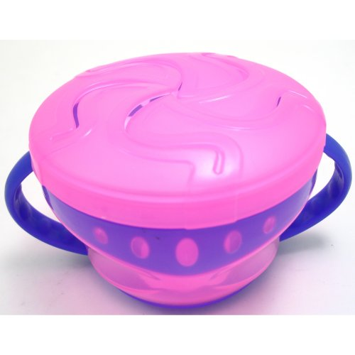 Griptight - My First Self Feed Snack Bowl - Pink