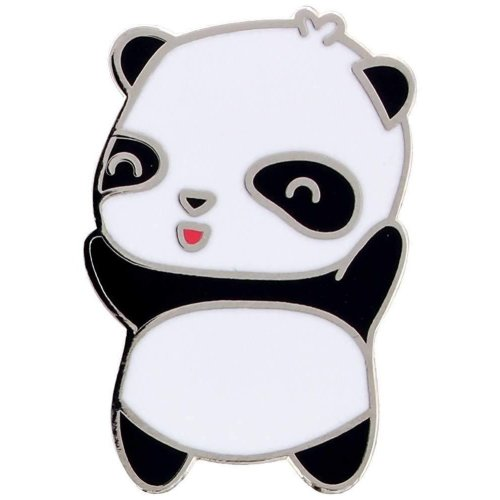 Grindstore Kawaii Panda Enamel Pin Badge