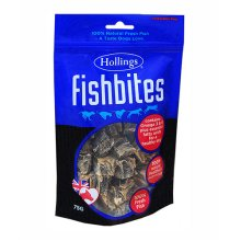 Hollings  Fish Bites For Dogs 75g x 8
