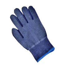 2 Pairs Outdoor/Home Wearable Non-skid Working Gloves Blue