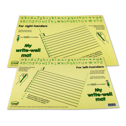 Writewell Mat (Cream)  Right and Left handed