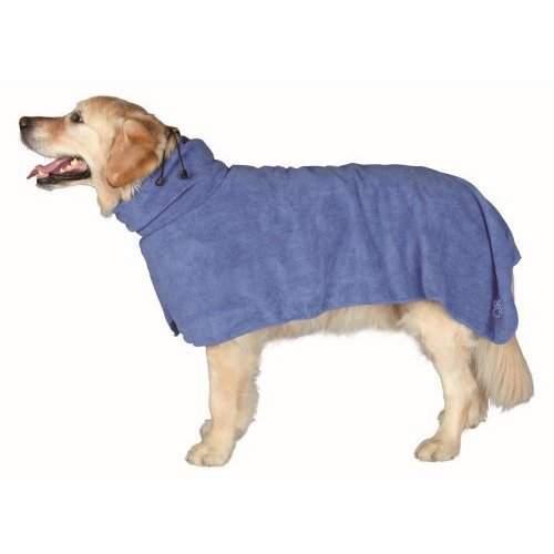 Trixie Bathrobe For Dogs Size Large Length 60cm - Towel -  bathrobe trixie dogs large 60cm size length towel