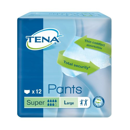 TENA Super 12 Pants Large