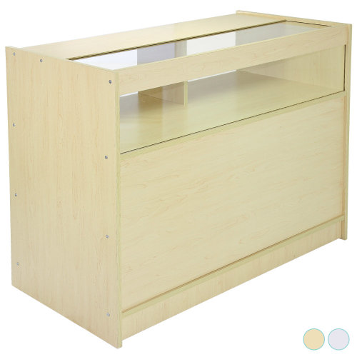 Shop Counter Maple Display Cabinet B1200