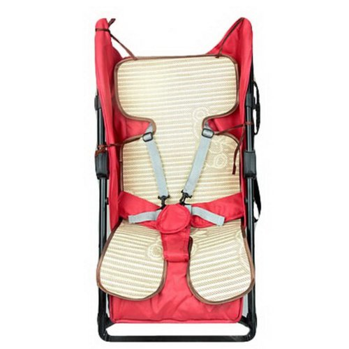 Summer Carts Mats Reusable Stroller Flax Mats Liner for Stroller,Coffee
