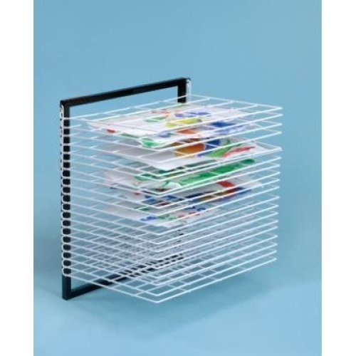 20 Shelf Wall Mounted Art Drying Rack (A1162)