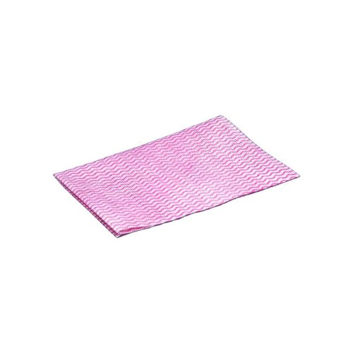 Disposable Wiping Cloths -  Red - Pack of 50
