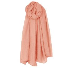 Womens Fashion Solid Scarves Comfortable Scarf Shawl Wrap Neck Wear, Pink