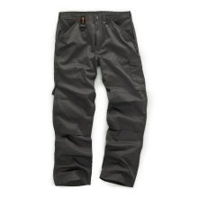 Scruffs Worker Trousers Graphite Grey Men's