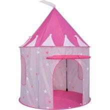 ViVo  Pop Up Princess Play Tent Pink Castle Fun Outdoor Indoor Hearts Stripes