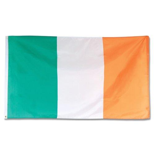 Irish Flag. 3' x 5'. Cloth - Flag Ireland Party National St Patricks Fancy -  flag cloth ireland irish party national st patricks fancy bunting 3 x 5