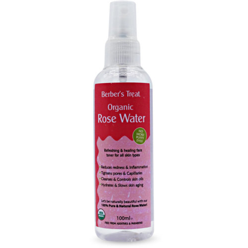 Berber's Treat Organic Rose Water - 100ml