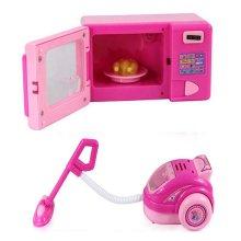 Set Of 2 Lovely Mini Kids Electronic Toys Home Appliances Model Toys Play Toys