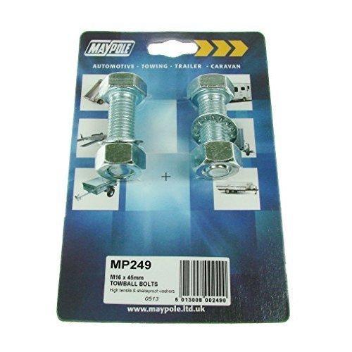 Nut & Bolt - M16 X 45mm Two Dp - Bolts Maypole Nuts -  m16 45mm bolts maypole x nuts