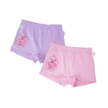 Pack of 3 Soft Cotton Daily Wear Baby Girl Underwear Brief