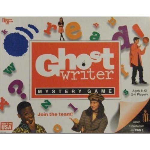 Ghost Writer Mystery Game