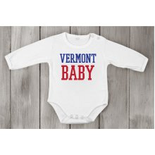 Baby Long vermont baby usa state