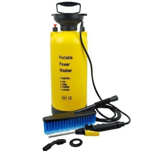 Portable Power Washer 8L | Hand Pump Pressure Washer