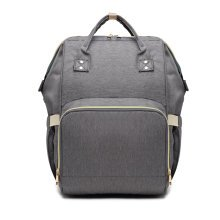 (Dark Grey) Miss Lulu Baby Changing Backpack | Nappy Change Backpack