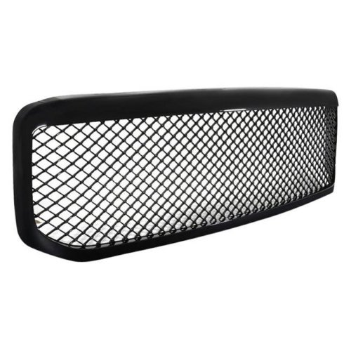 Spec D Tuning HG-F25099JM-JL Gloss Black Mesh Main Grille for 1999-2004 Ford F-250