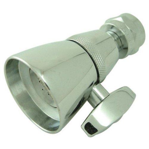 Kingston Brass K131A1 1-.75 Inch Diameter Brass Shower Head - Polished Chrome
