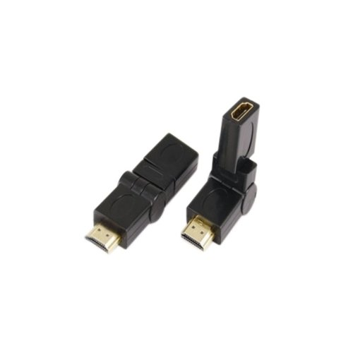 HDMI-A to HDMI-A Jack Adaptor With Pivot and Gold Plated Contacts