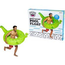 BigMouth Inflatable Giant T-Rex Tail Pool Float Swimming Pool Lounger Water Beach Holiday