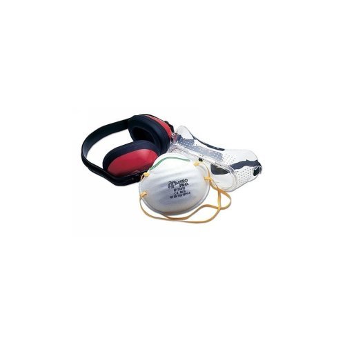 Ear, Eye & Mouth Safety Kit - 3 Piece