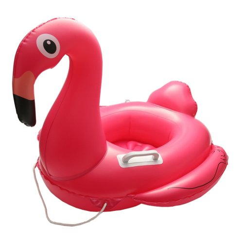 Baby Float, IBanana Children Baby Infant Kids Toddler Flamingo Inflatable Pool Float Seat Ring with 2 Handle and Safty String for 1-6 Years Baby...