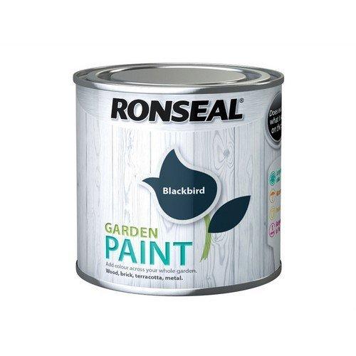 Ronseal 37382 Garden Paint Black Bird 250ml