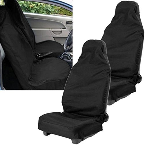 HEAVY DUTY WATERPROOF rear bench seat cover. car // van XtremeAuto/® GREY