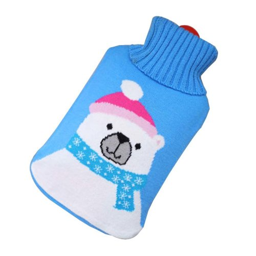 [Bear] Big Hot Water Bottle Cute Hot Water Bag Hot Water Bottle With Cover