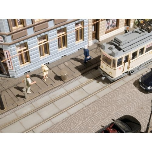 Tram track sleepers - Total length 723 mm - Auhagen 41617 - free post