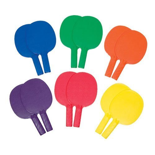 Table Tennis Paddles 12 Pack