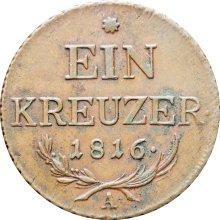 Austria Habsburg 1816 One Kreuzer Franz II Coin