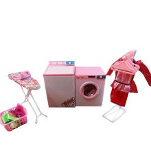 Luxurious 11.5'' Doll Living Room Furniture Set-Laundry Center