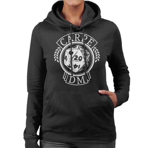 Dungeons And Dragons Carpe DM Women's Hooded Sweatshirt
