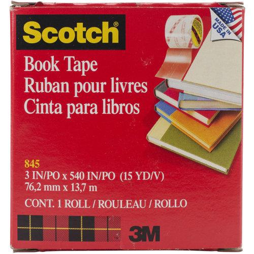 "Scotch Book Tape Boxed-3""X15yd"