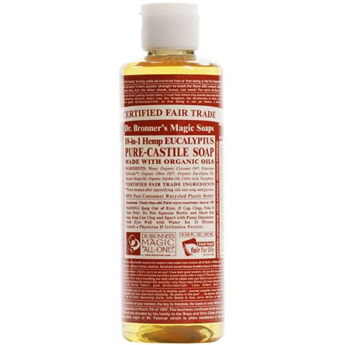 Dr Bronner Organic Eucalyptus Castile Liquid Soap 473ml