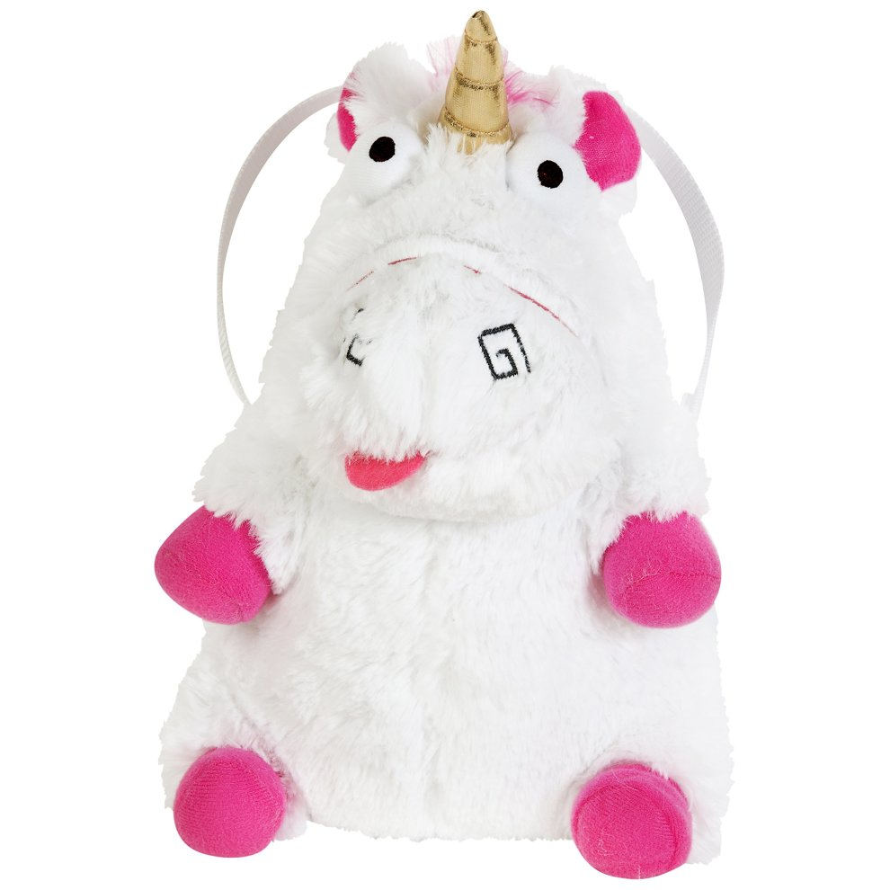 Fluffy Unicorn Cuddly Plush Cross Body Messanger Bag Holiday Travel Cabin Bag - Agnes Despicable me - Unicorn Teddy Bag on OnBuy