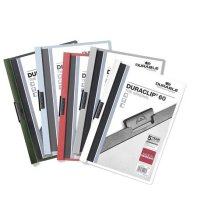 Durable Duraclip 60, Clip File for 1-60 Sheets A4 - Assorted Colours, Pack of 25