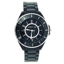 Cerruti 1881 Women's Black Ceramic Watch