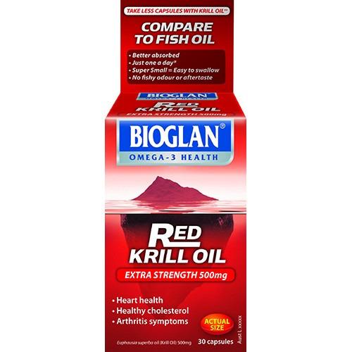 Bioglan Bioglan Red Krill Oil 500mg 30 Capsules