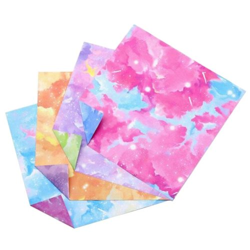 174 Sheets Colorful Square Origami Papers Craft Folding Papers #25