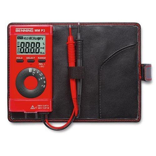 BENNING 044084 MM P3 Digital Multimeter in pocket format