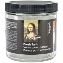Mona Lisa Artist Brush Cleaning Tank-16oz